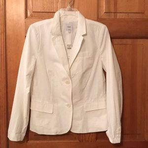 NWT Women's Gap white blazer